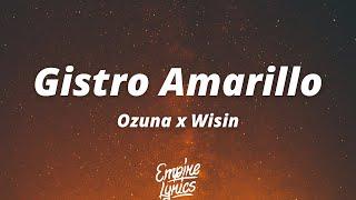 Ozuna x Wisin - Gistro Amarillo [Letra / Lyrics]