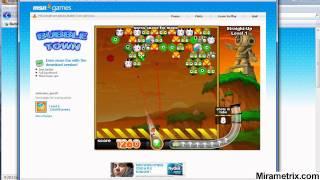 MSN Games Bubble Town Eye tracking Study