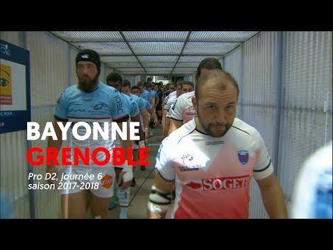 Bayonne - Grenoble : le résumé vidéo
