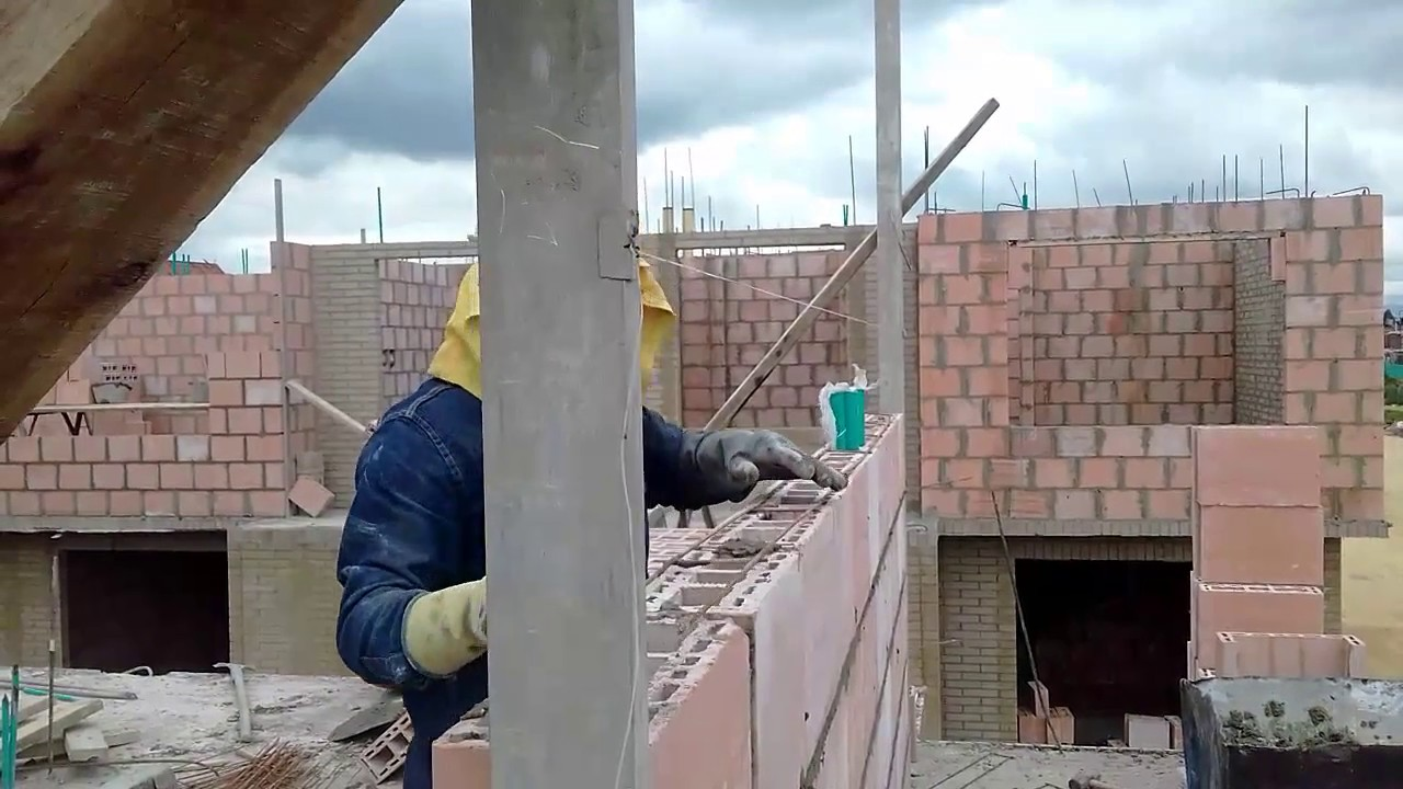Piedras Pared Mamposteria Bloque Estructural - Youtube