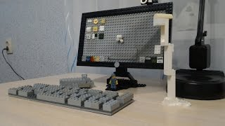 обзор компьютера из лего в натуральную величину