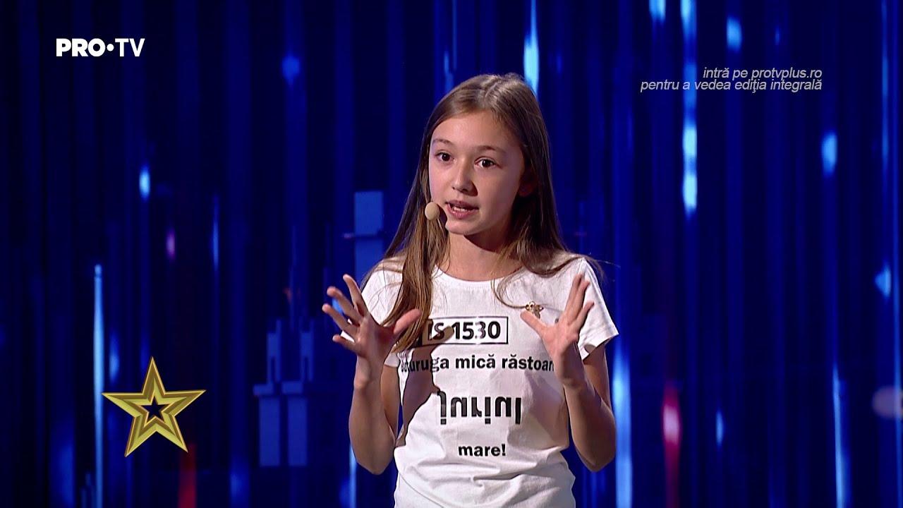 Românii au talent 2021: Sara Smighelschi, cele 5 minute de roast pe care le vei asculta pe repeat