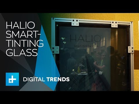 Halio Smart Window at CES 2018