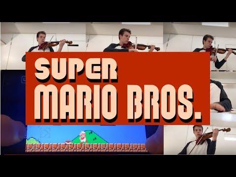Super Mario Bros sound FX on Violin