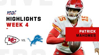 Patrick Mahomes Comes Up Clutch w/ 315 Yds | NFL 2019 Highlights