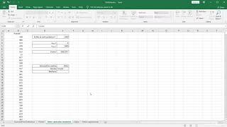 Izračun srednjih vrednosti – Excel