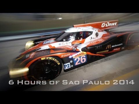 G-Drive Racing. 6 Hours of Sao Paulo 2014. FIA WEC