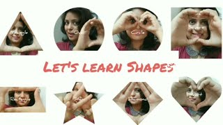 Teaching and Learning Basic Shapes to Children Quick and Easy: Without Paper & Pen. Homeschooling