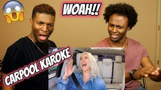 Christina Aguilera Carpool Karaoke - Extended Cut (REACTION)
