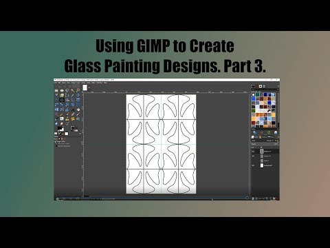 Creating Glass Painting Designs with GIMP. Part 3. thumbnail