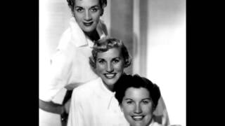 The Andrews Sisters In The Mood Rare