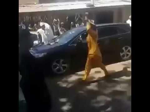 Fomer Katsina State Governor Ibrahim Shema arrived home after the court session