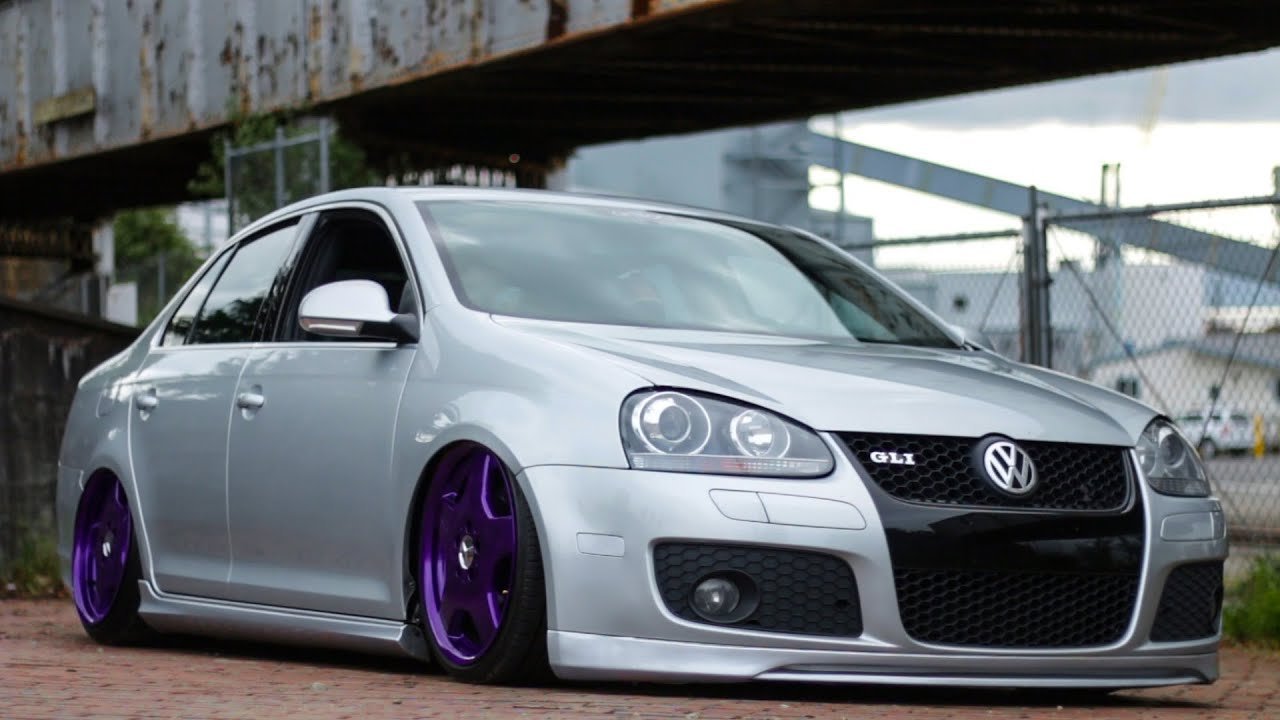 2015 Jetta Gli >> David Lee's Bagged MKV GLI - YouTube