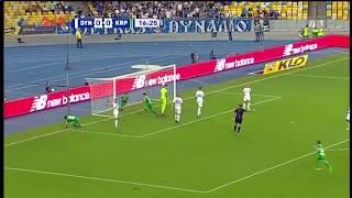 Динамо – Карпаты – 0:1. Гол: Швед (17