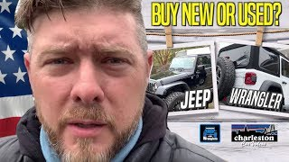 Benefits of Buying a USED Jeep Wrangler VS New Jeep Wrangler | YJ, TJ, LJ, JK & JKU vs JL