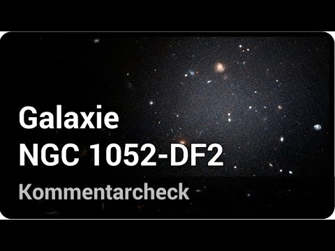 Galaxie NGC 1052-DF2 • Kommentarcheck   Andreas Müller