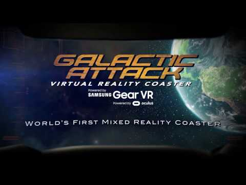 World's First Mixed Reality Experience on a Virtual Reality Roller Coaster