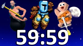 Can I Still Beat the Hardest Games of all Time in 1 Hour?