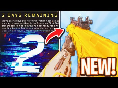 the *NEW* Black Ops 4 DLC WEAPON Update..