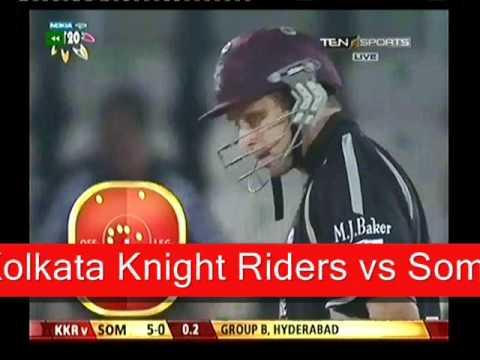 Kolkata Knight Riders vs Somerset Highlights Sep 25-11