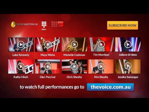 Episode 4 Blind Auditions: The Voice Australia Season 2
