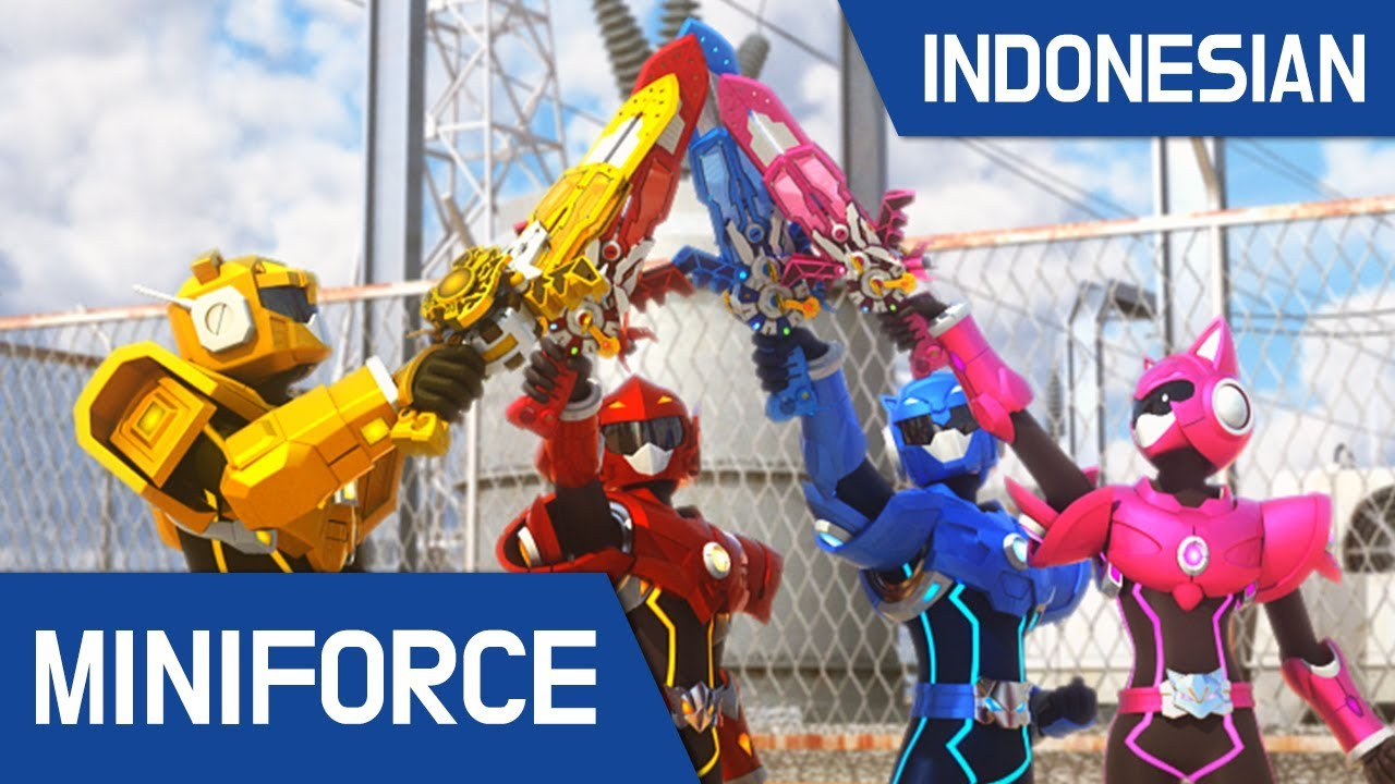 [Indonesian Dub ] MiniForce S1 EP 02 Ancaman Baru