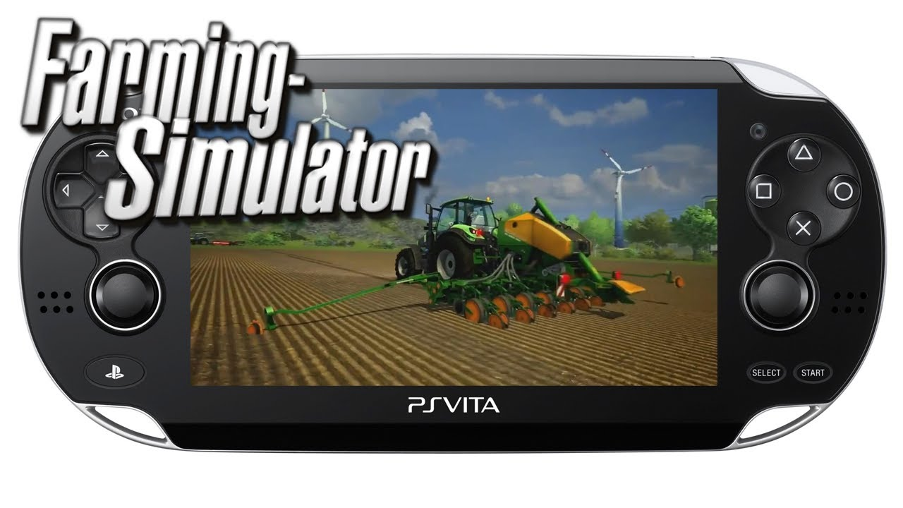 Farming Simulator Ps Vita Gameplay Youtube