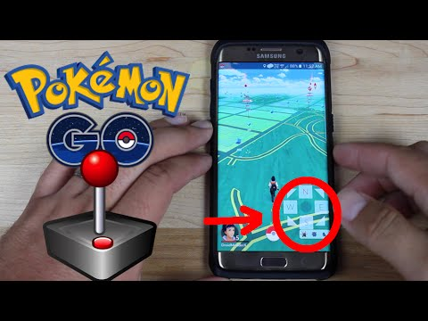 PokeMon Go Add A JoyStick Play At Home Cheat Hack! Plus Change ...