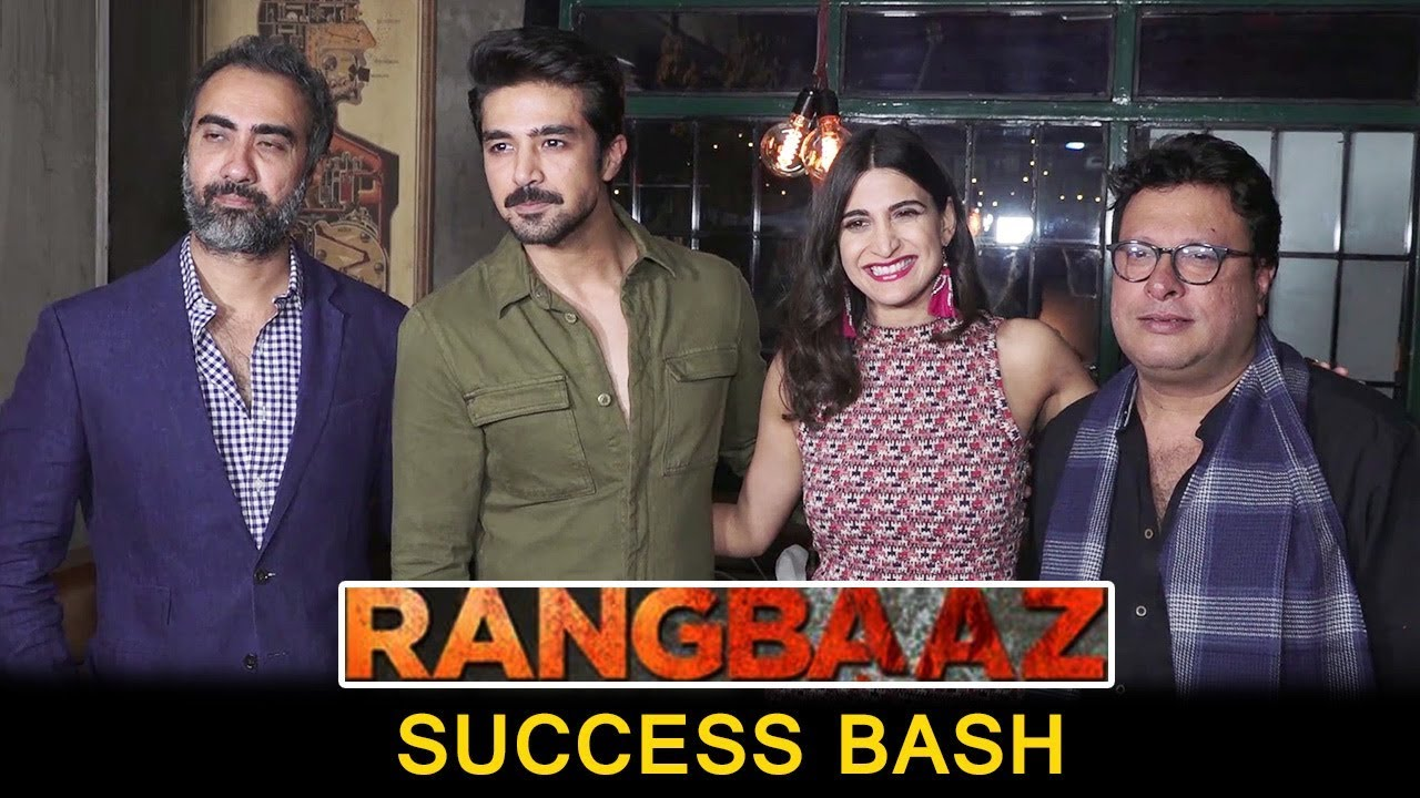 RANGBAAZ Web Series Success Bash : Saqib Saleem, Aahana Kumra, Ranvir Shorey