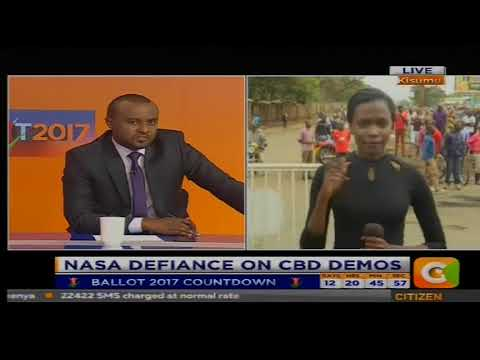 Citizen Extra: NASA Defiance On C.B.D Demos[PART 1]