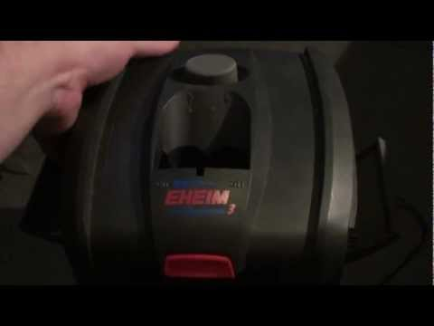 How to fix leaking Eheim Professional 3, 2071, 2073, and 2075 canister filters.