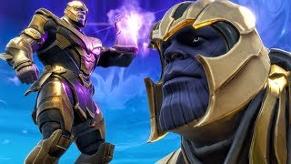 EPIC FIGHT VS THANOS IN SOLO WIN ON INFINITY GAUNTLET! Fortnite Battle Royale Gameplay Ep. 19