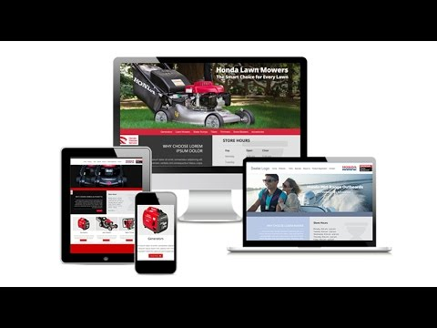 Honda Power Equipment Dealer Sites