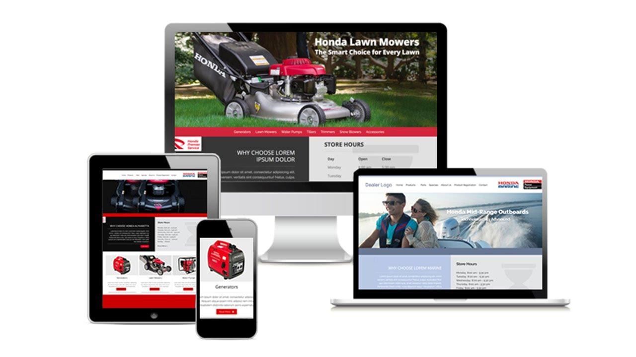 Honda Power Equipment Dealer Sites