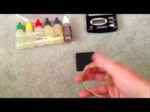 How to use a gold test kit 10k 14k 18k 22k 24k/ HD shown how!
