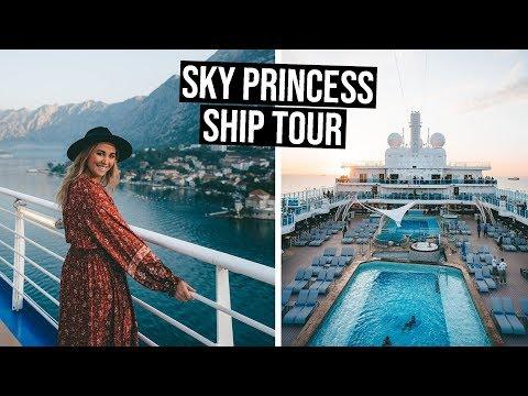Boarding The BRAND NEW Princess Cruise Ship | Sky Princess Ship Tour