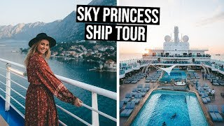 Boarding the BRAND NEW Princess Cruise Ship | Sky Princess Ship Tour