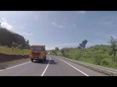 Rwanda Route vers Gisenyi, Gopro / Rwanda Road to Gisenyi, Gopro