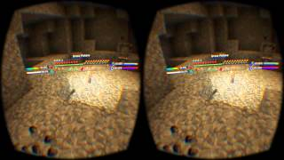 Minecrift on Oculus Rift DK2 + Forge Mods w/head tracking