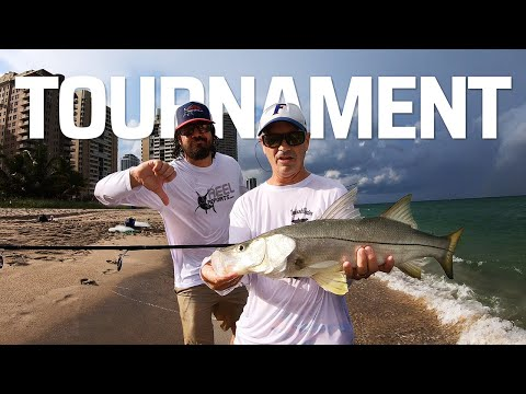 BEACH FISHING TOURNAMENT - IT WASN'T EVEN CLOSE!!