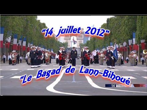 Download BAGAD de LANN-BIHOUE.Défilé 14 juillet 2012.