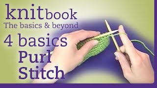 Knitbook: Purl Stitch