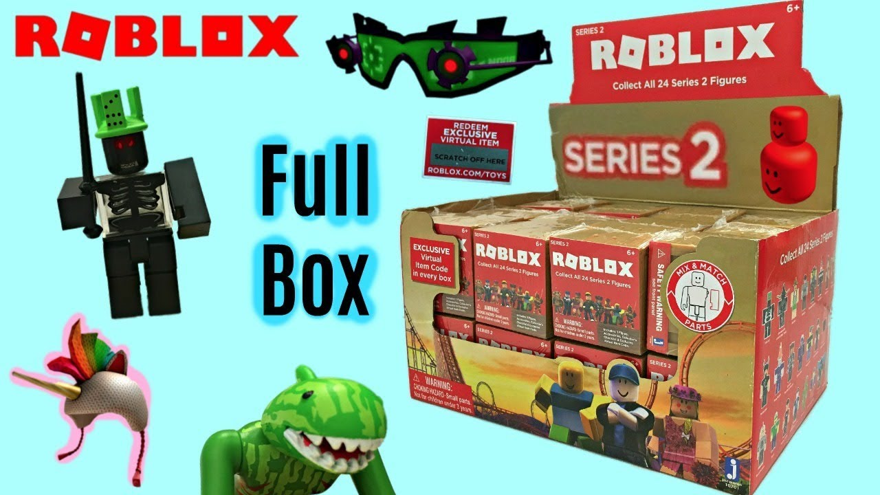 Roblox Blind Boxes Series 2 Code Items Surprise Mystery Boxes