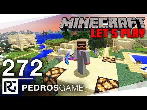 STAVÍME POUŠTĚ A LEDOVCE  Minecraft Let's Play 272  Pedro