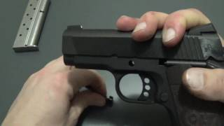 Colt Defender 1911 Disassembly and assembly - Field Strip - Cleaning