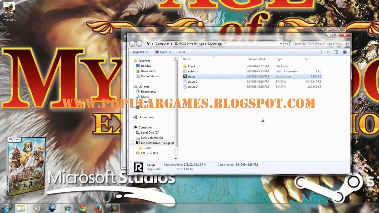 Download game age of mythology free.