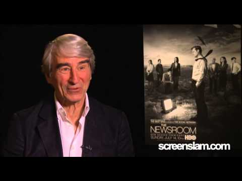 The Newsroom Season 2: Sam Waterston Interview