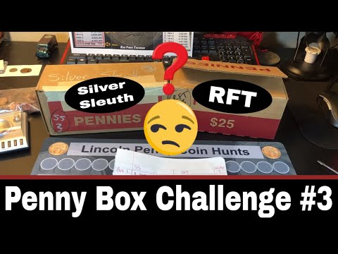 Penny Box Challenge #3 - RFT vs Silver Sleuth!