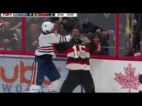 Eric Gryba vs Zack Smith Feb 4, 2016