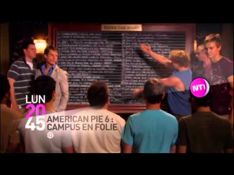 american pie 6 campus en folie lundi 20h45  NT1 25 5 2013 streaming vf